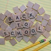 letters spelling back to school