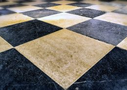 tile floor chequered carpet cleaning brisbane